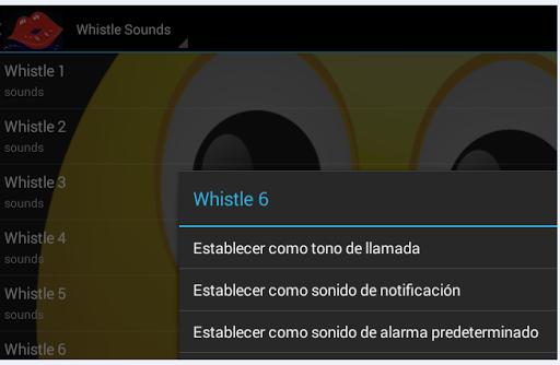 Whistle Ringtones
