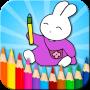 icon Coloring Bunny