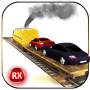 icon Car Transporter Cargo Train