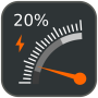 icon Gauge Battery Widget 2020