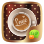icon (FREE)GO SMS LOVE COFFEE THEME for Huawei Mate 9 Pro