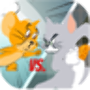 icon Tom fights Jerry for cheese