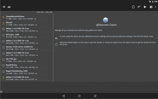 Free download qBittorrent Controller APK for Android