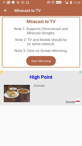 Miracast Display Finder for Samsung Galaxy J3 Pro - free