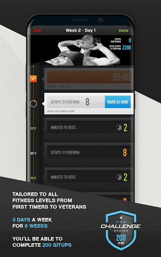 0-200 Situps Abs Trainer