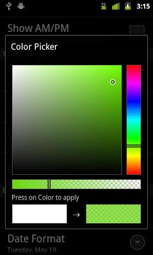 Digital Clock Widget for Oppo F1s - free download APK file