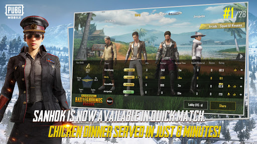 PUBG Mobile for Samsung Galaxy S Duos S7562 - free download