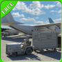 icon Airport Cargo Truck Driver 3D