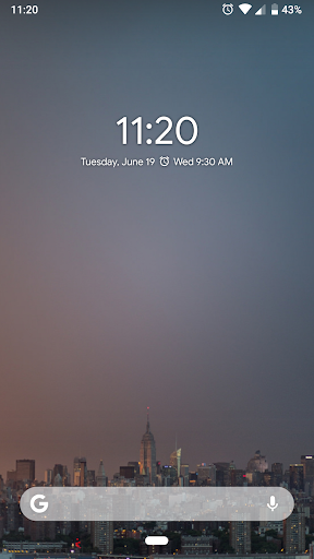 iphone digital clock widget apk
