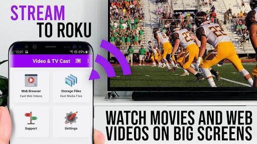 Video & TV Cast | Roku Remote