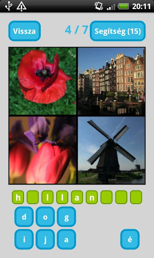 4 Picture 1 Word: guess what? Hungarian