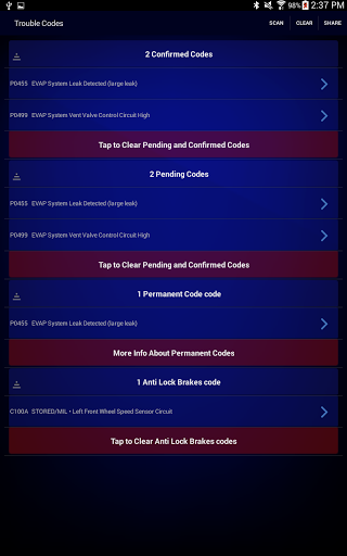 Free download BlueDriver OBD2 Scan Tool APK for Android