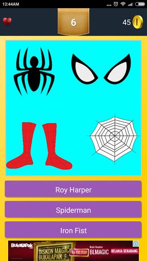 Iconic Superhero Quiz