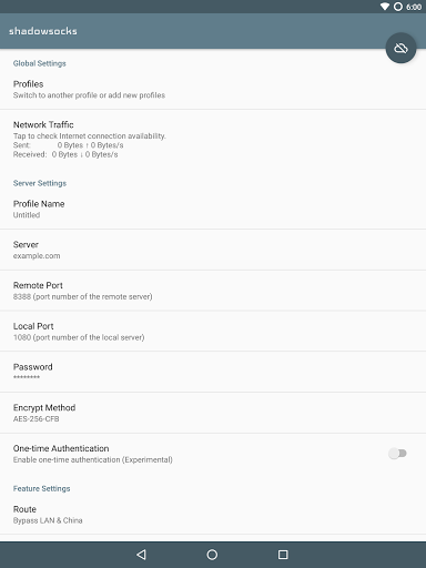 Shadowsocks for Oppo R9 - free download APK file for R9