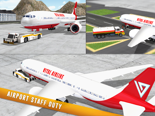 Airplane Flight Airport Rescue