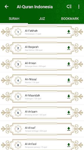 Free download AL-QURAN &TERJEMAHAN INDONESIA APK for Android