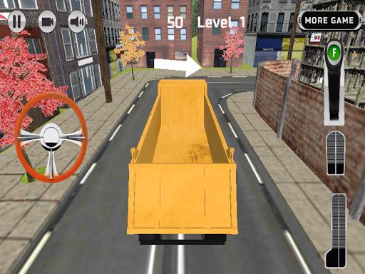 Heavy Truck Parking 3D