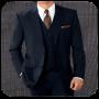 icon Stylish Man Suit Photo Montage