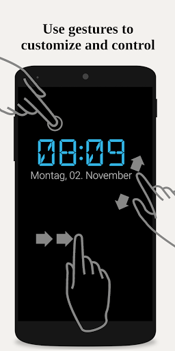 Night clock (Daydream clock)