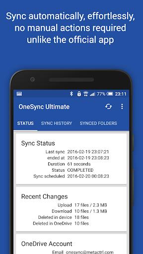 Autosync OneDrive - OneSync
