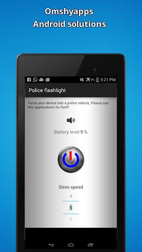 Police Flashlight