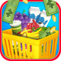 icon Supermarket Shopping for Kids