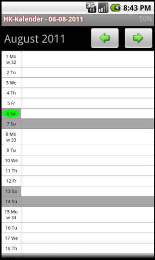 HK Kalender