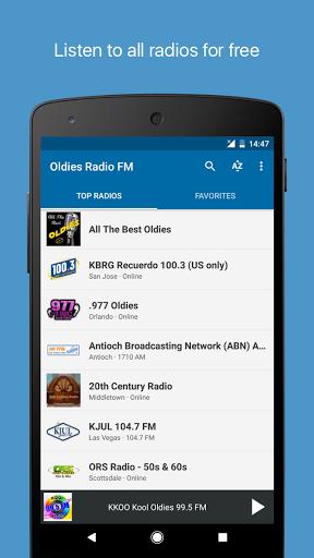Oldies Radio FM for Asus ZenFone 3 Deluxe (ZS570KL) - free