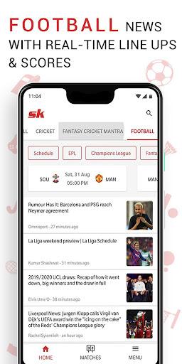 Sportskeeda Live Scores & News