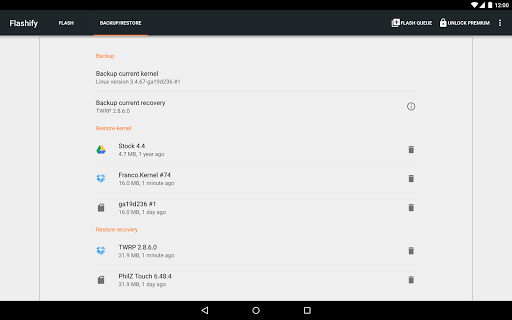 Flashify (for root users) for Lenovo A6600 Plus - free