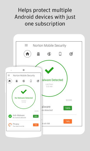 Norton Security and Antivirus for Samsung Galaxy J2 Pro
