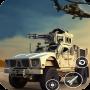 icon Army Machine Gun Camp War 3D