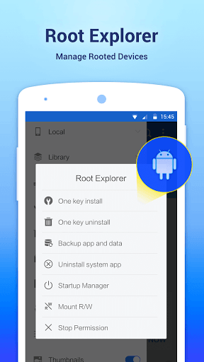 ES File Explorer File Manager for Samsung Galaxy J2 - free download