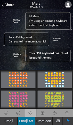 TouchPal Meizu Style Theme