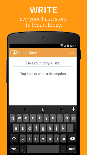 Wattpad for ZTE Axon 7 Premium - free download APK file for Axon 7
