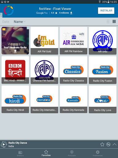 FM Radio India - Online Radio for Oppo F3 Plus - free