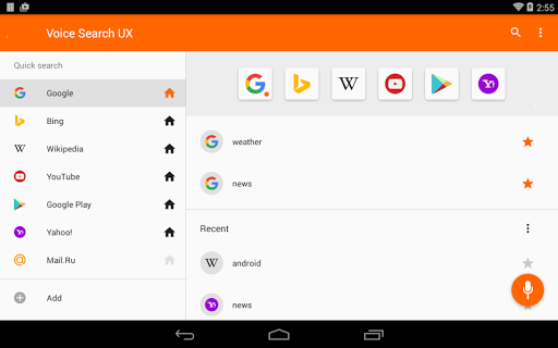 google voice search 2.1 4 apk download
