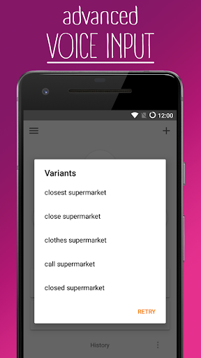 Voice Search for Lephone W7 - free download APK file for W7