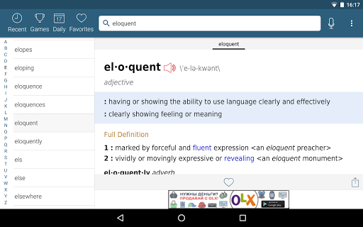 Free download Dictionary - Merriam-Webster APK for Android