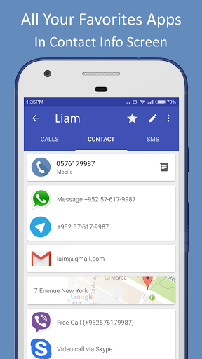 Contacts Dialer for Lenovo Tab 4 10 Plus - free download APK