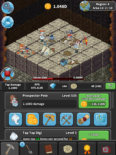 Free download Tap Tap Dig - Idle Clicker Game APK for Android