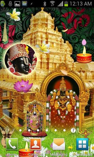 Tirupati Balaji Live Wallpaper For Lenovo Vibe K5 Note Free