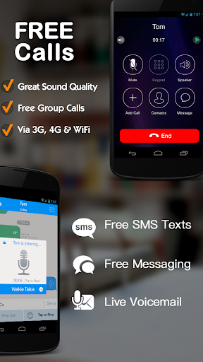 Free download Free phone calls, free texting SMS on free