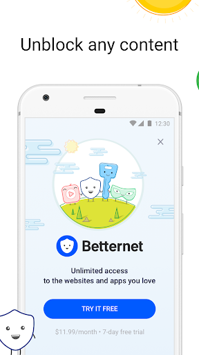 Free VPN -Betternet WiFi Proxy