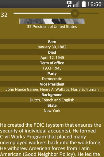 US Presidents