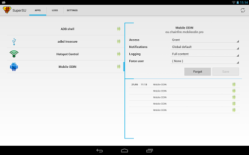 SuperSU for Samsung Galaxy J1 Ace - free download APK file for