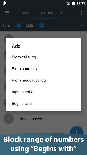 Calls Blacklist - Call Blocker for InnJoo I3 - free download APK