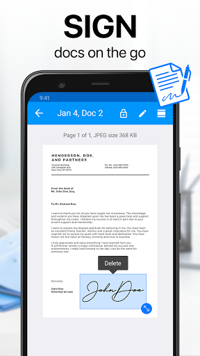 Scanner App – Scan documents to PDF with iScanner