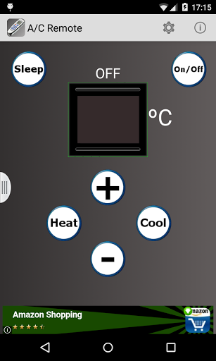 A/C Air Conditioner Remote for Samsung Galaxy S8 - free
