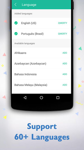 Keyboard for Samsung Galaxy Y S5360 - free download APK file